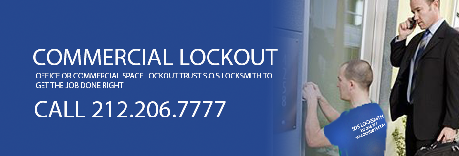 LOCKOUT IN NYC GET SOS LOCKSMITH TO DO THE JOB