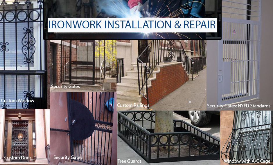 IRONWORK INSTALLATION & REPAIR