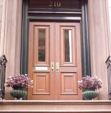 AFTER IMAGE: Exterior Wood Door Installation