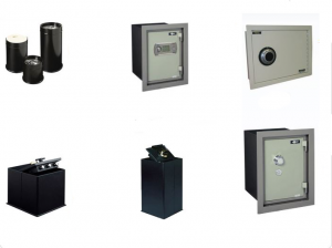 Amsec Floor and Wall Safes