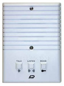 Basic Apartment Intercom Stations for audio systems.